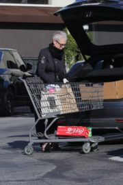 Jamie Lee Curtis Shopping at Gleson's Market in Pacific Palisades 2020/03/26 3