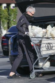 Jamie Lee Curtis Shopping at Gleson's Market in Pacific Palisades 2020/03/26 9
