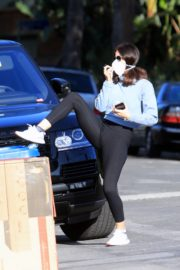 Katharine McPhee with David Foster out and about in Los Angeles 2020/03/27 26