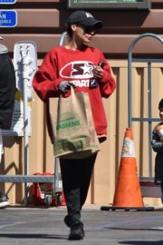 Naya Rivera with her son out and about in Los Feliz 2020/03/27 1