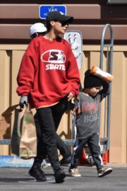 Naya Rivera with her son out and about in Los Feliz 2020/03/27 3