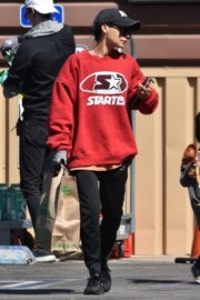 Naya Rivera with her son out and about in Los Feliz 2020/03/27 5