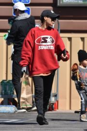 Naya Rivera with her son out and about in Los Feliz 2020/03/27 6