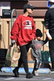 Naya Rivera with her son out and about in Los Feliz 2020/03/27 9
