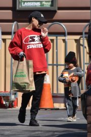 Naya Rivera with her son out and about in Los Feliz 2020/03/27 10
