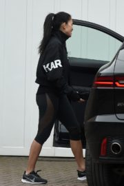 Nicole Scherzinger leaves after training session in London 2020/03/25 2