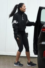 Nicole Scherzinger leaves after training session in London 2020/03/25 4
