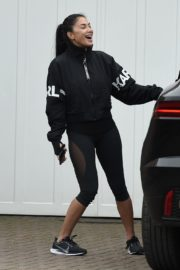 Nicole Scherzinger leaves after training session in London 2020/03/25 5