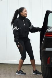 Nicole Scherzinger leaves after training session in London 2020/03/25 6