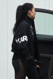 Nicole Scherzinger leaves after training session in London 2020/03/25 7