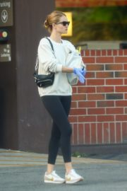 Rosie Huntington-Whiteley wears a mask while shopping in Los Angeles 2020/03/25 9