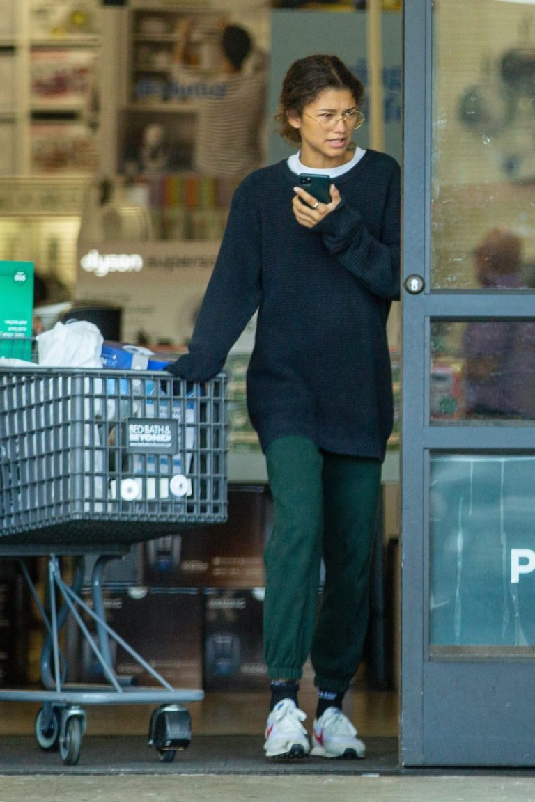 Zendaya Shopping with her brother in Los Angeles, California 2020/03/17 5