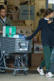 Zendaya Shopping with her brother in Los Angeles, California 2020/03/17 13