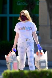 Ariel Winter leaves after shopping grocery in Los Angeles 2020/04/14 5