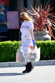 Ariel Winter leaves after shopping grocery in Los Angeles 2020/04/14 6