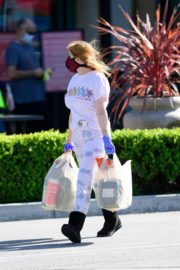 Ariel Winter leaves after shopping grocery in Los Angeles 2020/04/14 9