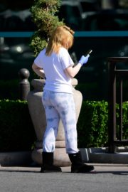 Ariel Winter leaves after shopping grocery in Los Angeles 2020/04/14 10