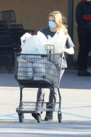 Ariel Winter Shopping for groceries at Gelson's in Los Angeles 2020/04/11 1