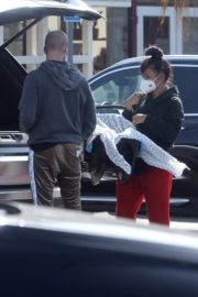 Christina Milian and Matt Pokora Shopping at the Market in Los Angeles 2020/04/04 3