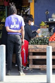 Christina Milian and Matt Pokora Shopping at the Market in Los Angeles 2020/04/04 6