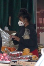 Christina Milian and Matt Pokora Shopping at the Market in Los Angeles 2020/04/04 9