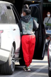 Christina Milian and Matt Pokora Shopping at the Market in Los Angeles 2020/04/04 11