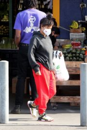 Christina Milian and Matt Pokora Shopping at the Market in Los Angeles 2020/04/04 20