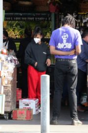 Christina Milian and Matt Pokora Shopping at the Market in Los Angeles 2020/04/04 22