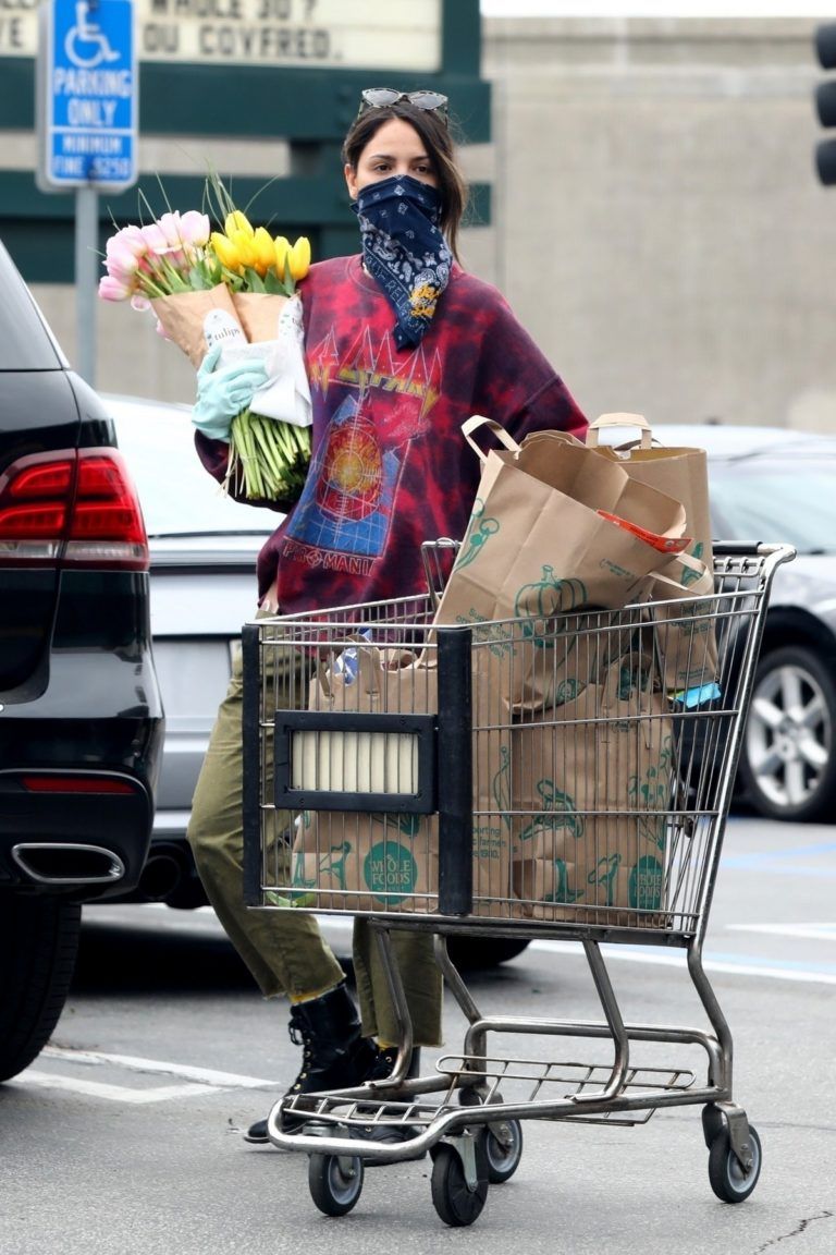 Eiza Gonzalez Shopping out in Los Angeles 2020/04/06 2