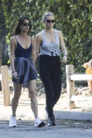 Gwyneth Paltrow out for Morning Walk with friend in Los Angeles 2020/04/02 7