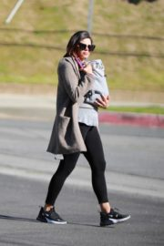 Jenna Dewan with baby Michael out in Los Angeles 2020/03/30 5