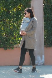 Jenna Dewan with baby Michael out in Los Angeles 2020/03/30 6