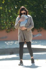 Jenna Dewan with baby Michael out in Los Angeles 2020/03/30 7