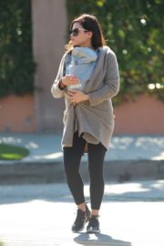 Jenna Dewan with baby Michael out in Los Angeles 2020/03/30 9