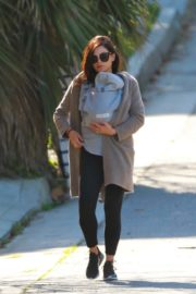 Jenna Dewan with baby Michael out in Los Angeles 2020/03/30 10