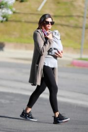 Jenna Dewan with baby Michael out in Los Angeles 2020/03/30 11