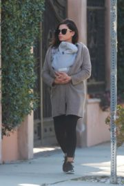 Jenna Dewan with baby Michael out in Los Angeles 2020/03/30 12
