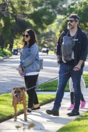 Jenna Dewan with her husband Channing Tatum Out in Los Angeles 2020/04/11 6