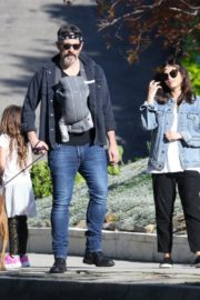Jenna Dewan with her husband Channing Tatum Out in Los Angeles 2020/04/11 10