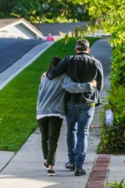 Jenna Dewan with her husband Channing Tatum Out in Los Angeles 2020/04/11 12