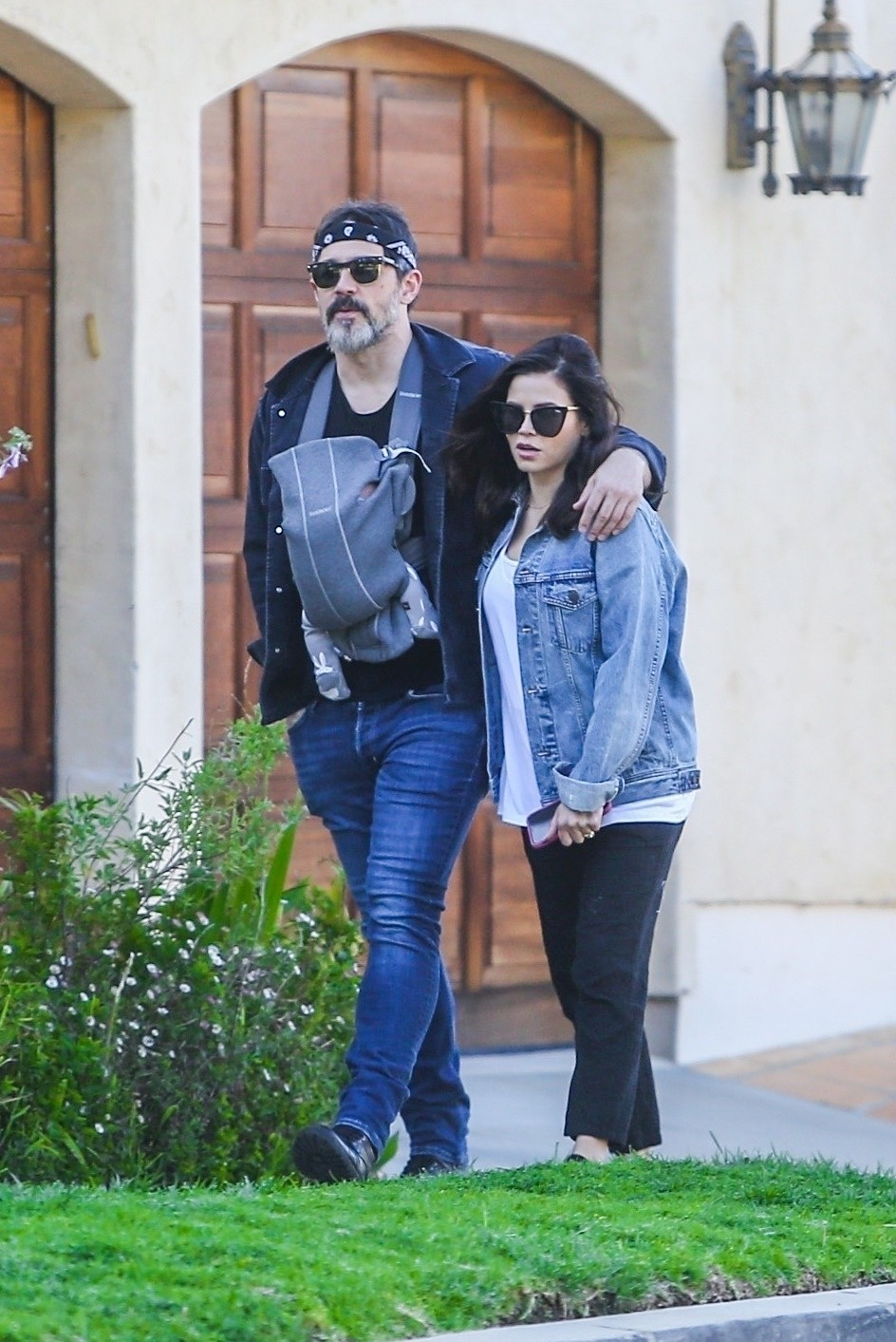 Jenna Dewan with her husband Channing Tatum Out in Los