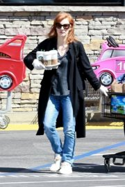 Jessica Chastain Grocery Shopping out in Palos Verdes, California 2020/04/04 1