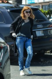 Jessica Chastain Grocery Shopping out in Palos Verdes, California 2020/04/04 3