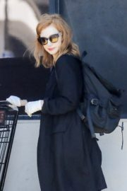 Jessica Chastain Grocery Shopping out in Palos Verdes, California 2020/04/04 6