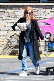 Jessica Chastain Grocery Shopping out in Palos Verdes, California 2020/04/04 7