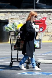 Jessica Chastain Grocery Shopping out in Palos Verdes, California 2020/04/04 8