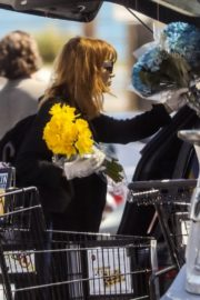 Jessica Chastain Grocery Shopping out in Palos Verdes, California 2020/04/04 9