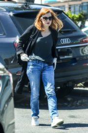 Jessica Chastain Grocery Shopping out in Palos Verdes, California 2020/04/04 10