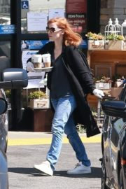 Jessica Chastain Grocery Shopping out in Palos Verdes, California 2020/04/04 12