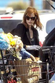 Jessica Chastain Grocery Shopping out in Palos Verdes, California 2020/04/04 13